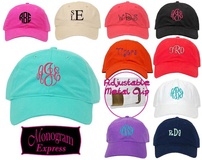 Personalized Baseball Hat | Monogram Hat | Custom Baseball | Womens Ball Cap | Unisex Hat | Golf Hat | Fishing Hat | Adjustable Baseball Hat