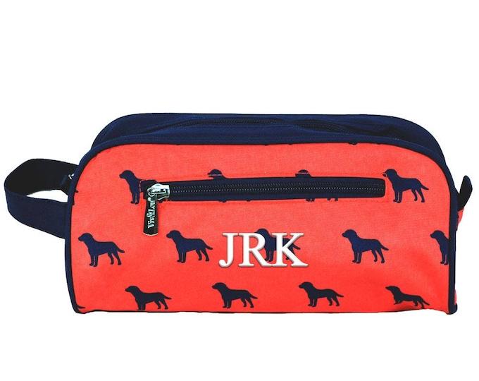 Monogrammed Mens Dopp Kit   Mens Toiletry Bag   Mens Travel Bag   Dopp Bag   Mens Shaving Bag   Groomsmen Gift   Dog Days Toiletry Bag