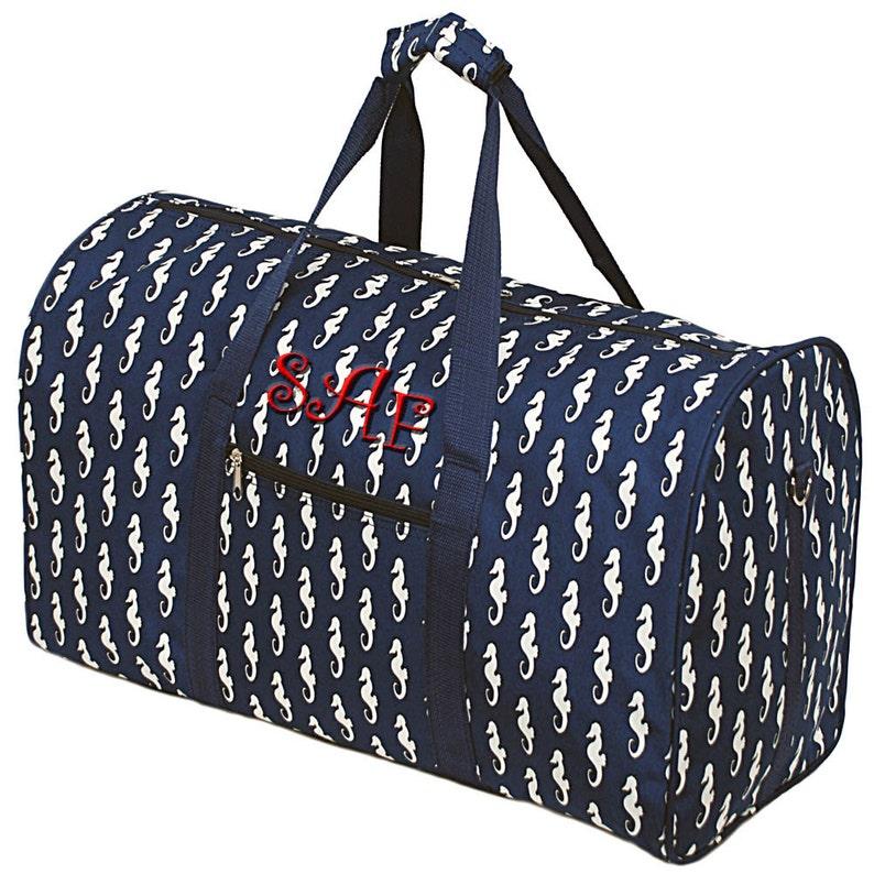 2ad60d3eb4 Monogrammed Duffel Bag Personalized Travel Bag Girls