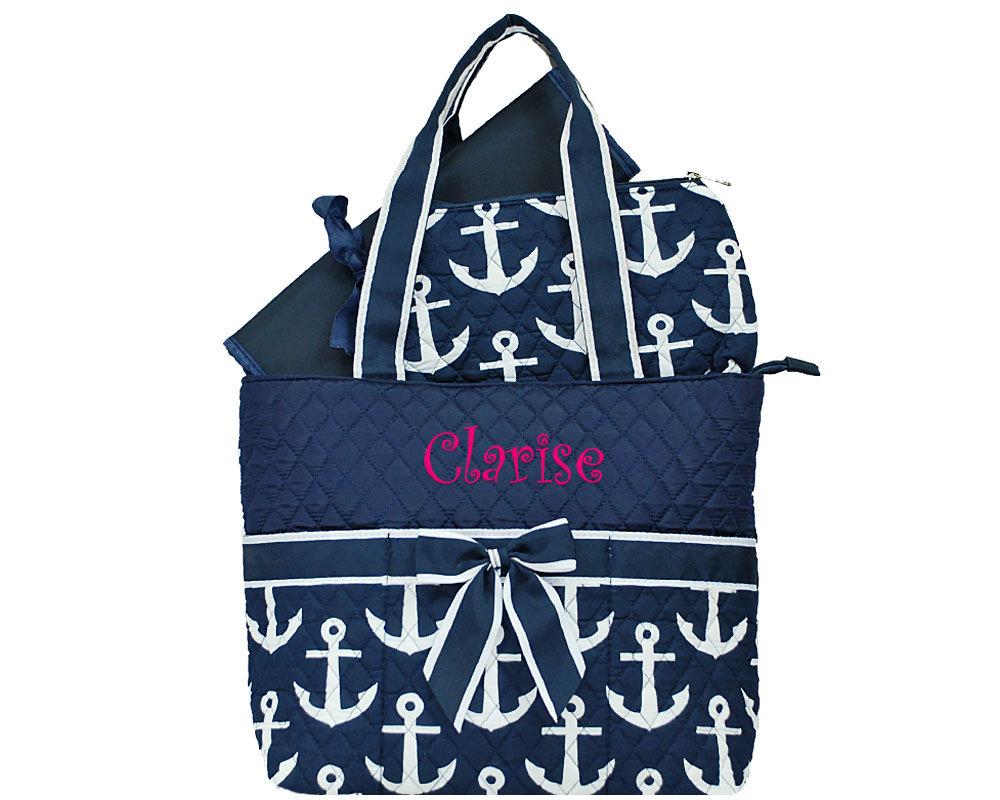 Personalized Diaper Bag Monogrammed Diaper Bag Daddy Diaper Bag