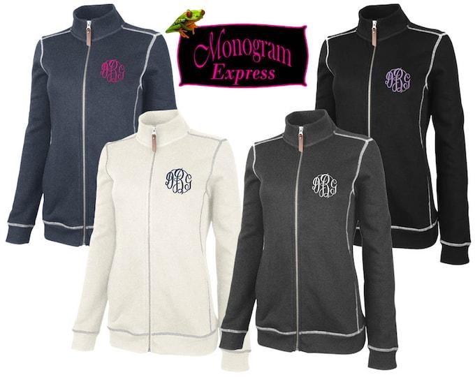 Personalized Women's Jacket | Monogrammed Women's Gift | Full Front Zip Jacket | Women's Lightweight Golf Jacket | Conway Flatback Jacket
