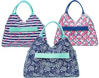Monogrammed Beach Tote   Personalized Beach Bag   Beach Tote   Zippered Beach Tote   Pool Bag   Summer Tote   Custom Tote   Large Beach Bag