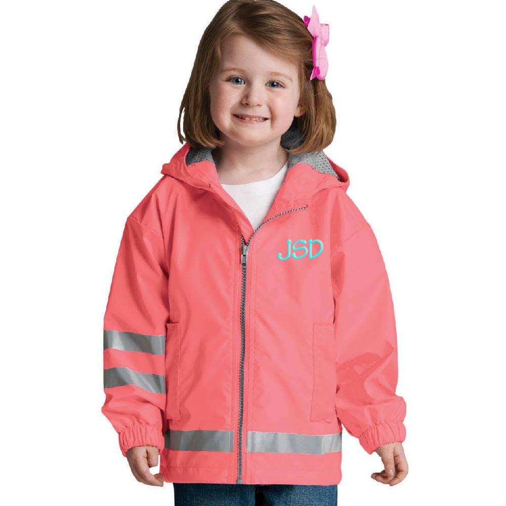 6f3dd921083d Personalized Toddlers Rain Coat