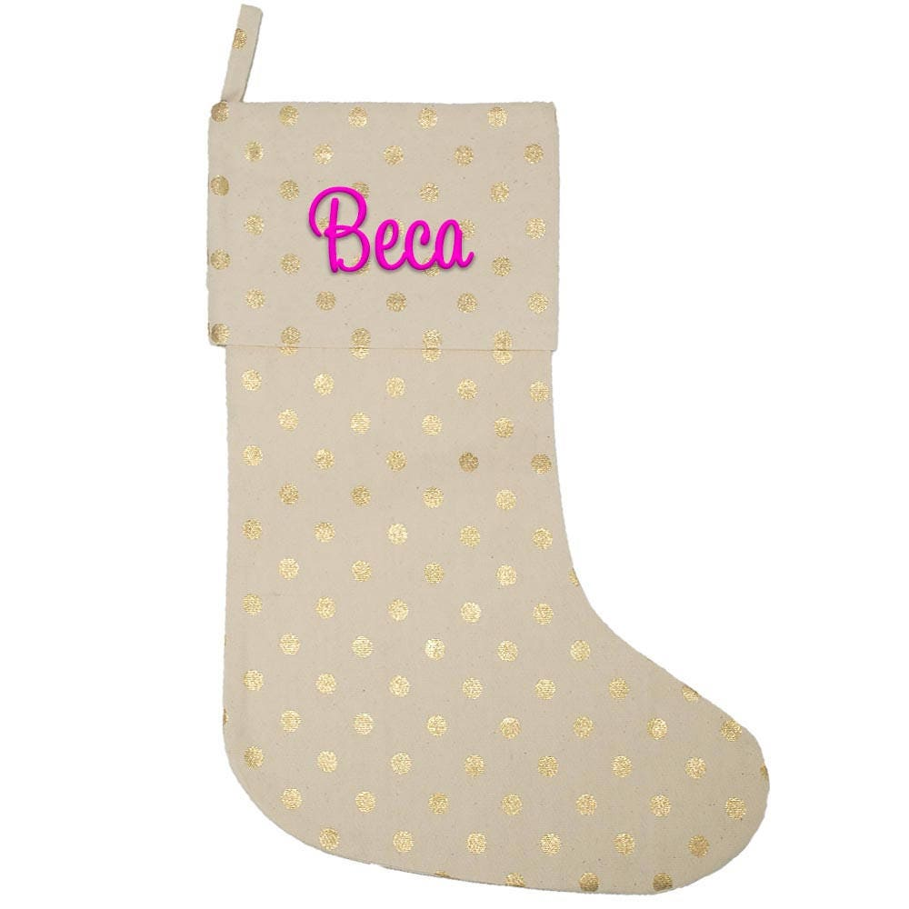 Monogrammed Christmas Stockings Personalized Christmas Stockings