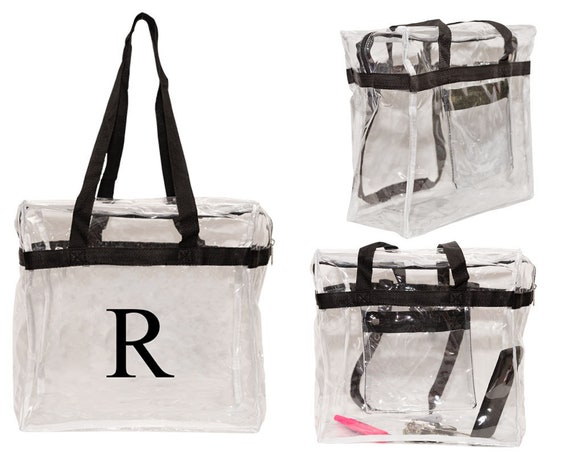 Football Sport Stadium-Approved Clear Crossbody Bag Raspberry
