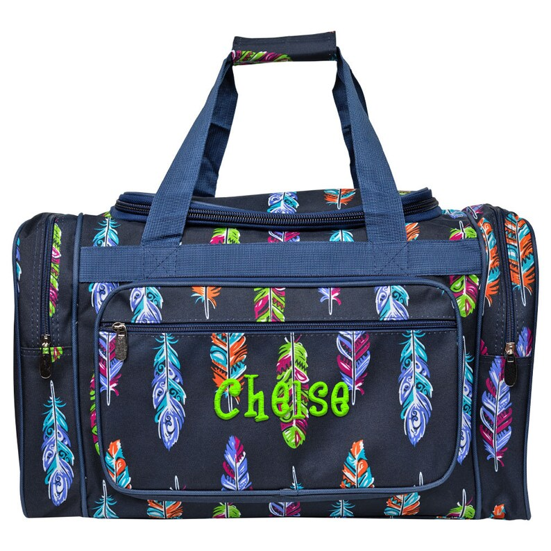 62da69f787 Monogrammed Duffle Bag Personalized Duffle Bag Overnight