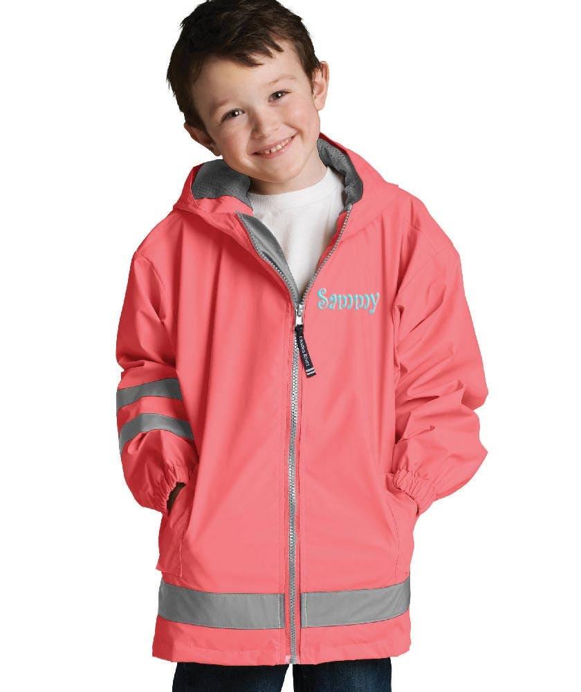 2b945b711109 Personalized Childs Rain Coat