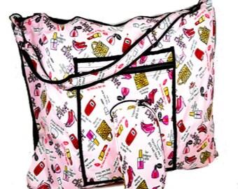 Monogrammed Pillow Bag   Travel Teen Pillow Bag   Personalized Girls Pillow Carrying Bag   Pink Travel Pillow Bag   Diva Pillow Travel Bag
