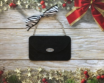 Quilted Purse Ornament