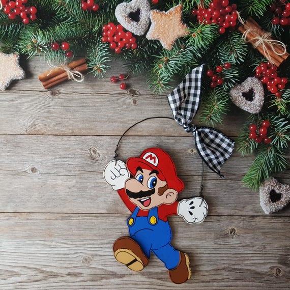 image 0 - Mario Brothers Christmas Ornament Mario Luigi Yoshi Etsy