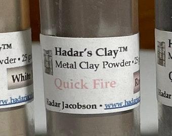 Hadar's Quick-Fire Metal Clays