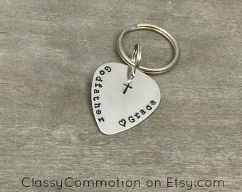 Godfather Key Chain - Custom Hand Stamped