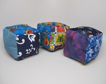 Colorful rattle blocks