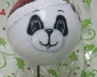 Santa Panda