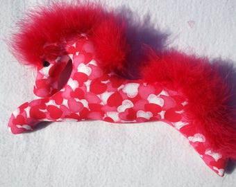 Valentine, red, hearts, pony,valentine gift, equestrian valentine, ornament, mobile, horse valentine