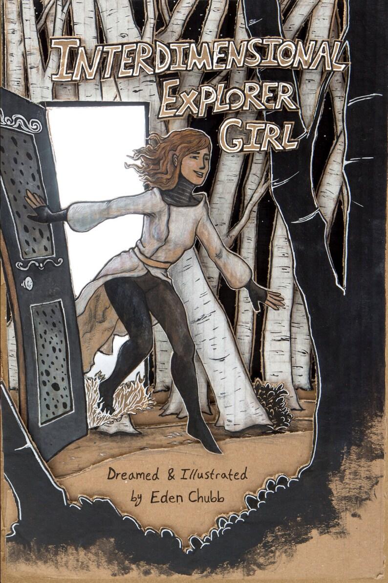 Interdimensional Explorer Girl Comic image 0