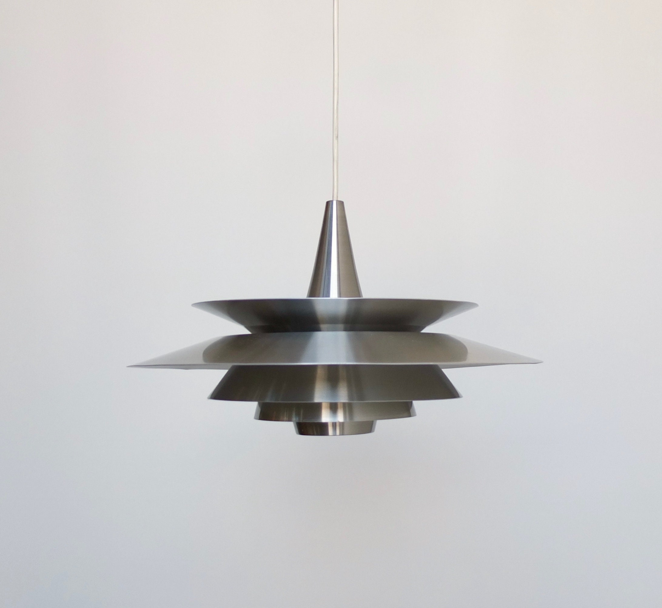 Mid Century Modern Pendant Light Vintage Danish Ceiling Etsy