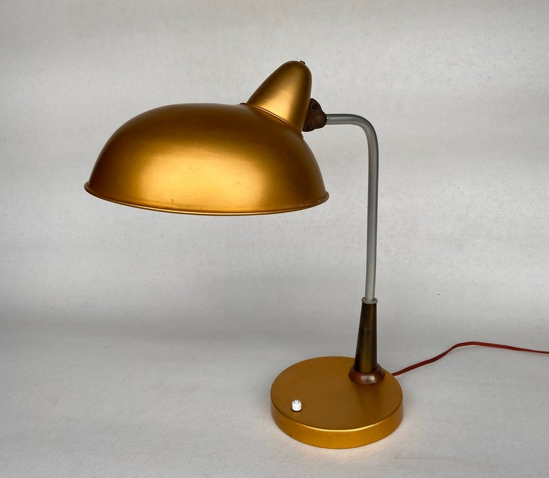 Lampada da tavolo Mid Century / Lampada da lavoro vintage / htXRTquq