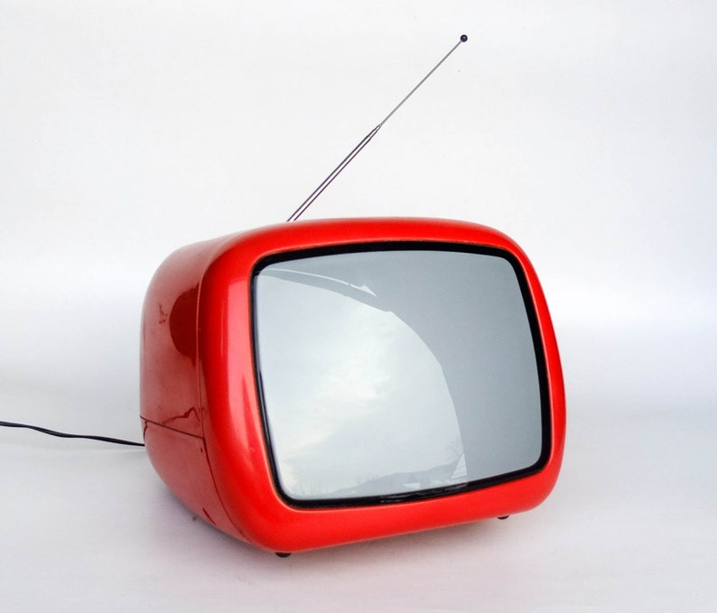 Vintage Portable TV Set From Yugoslavia   Iskra Minirama  image 0