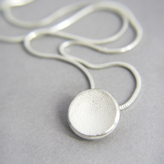Moon crater necklace