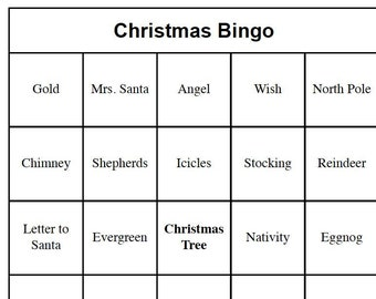 photo relating to Christmas Bingo Card Printable referred to as Products related towards Xmas Bingo Playing cards Printable - Xmas