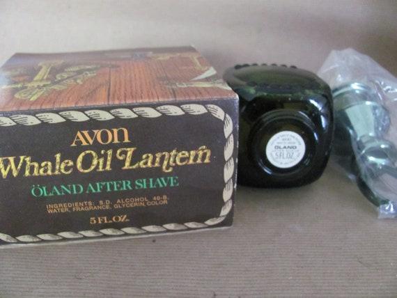 1970/'s Avon Whale Oil Lantern Decanter Vintage Avon After Shave Avon for Men Gift for Dad Lantern Glass Bottle Avon Man Cave Decor