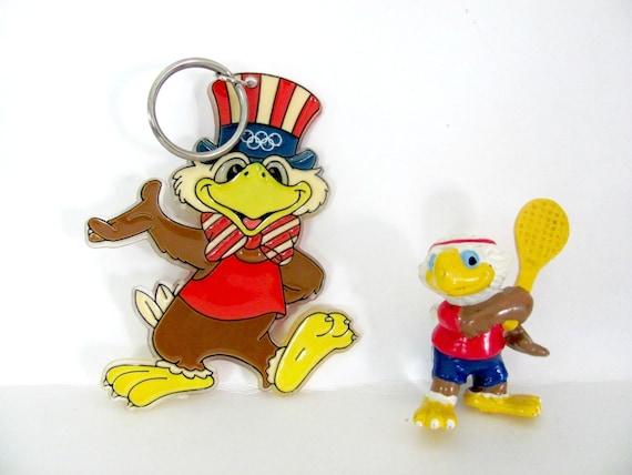 Vintage Sam olímpico águila 1980 mascota olímpica Los   Etsy