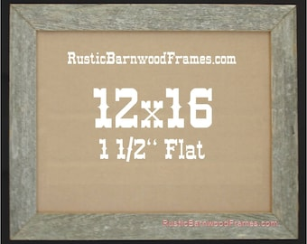 12x16 Barnwood Frame Etsy