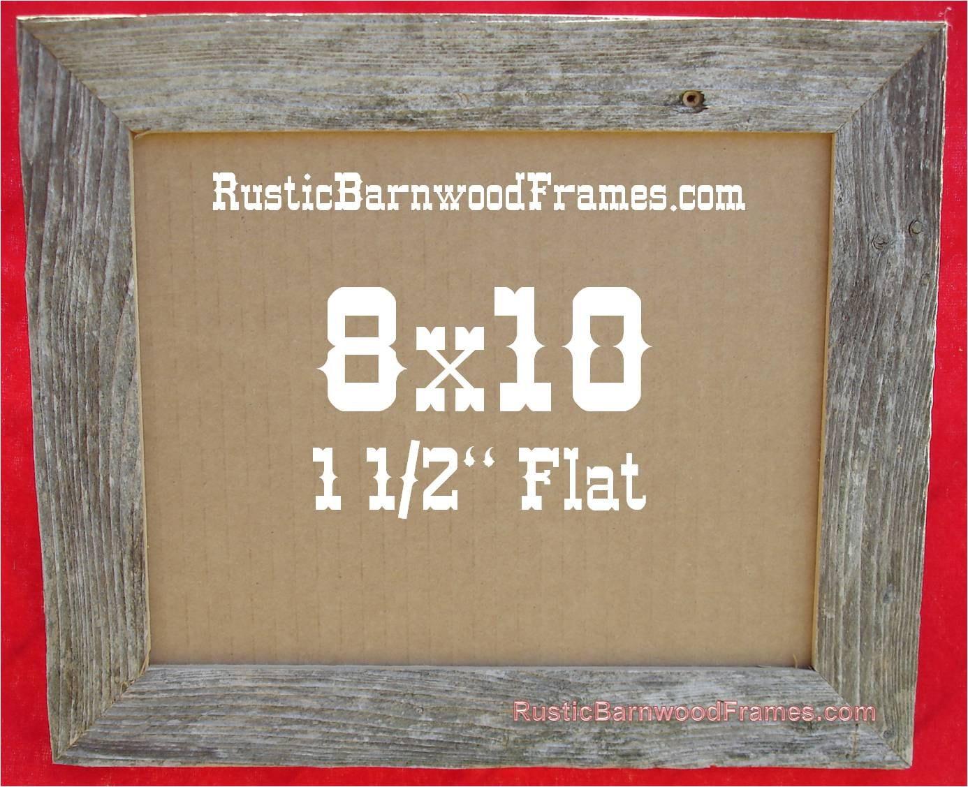 Mucho mayor de 8 x 10 6 1 1/2 de madera plana