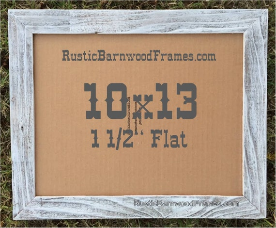 10x13 1 12 White Flat Rustic Barn Wood Weathered Etsy