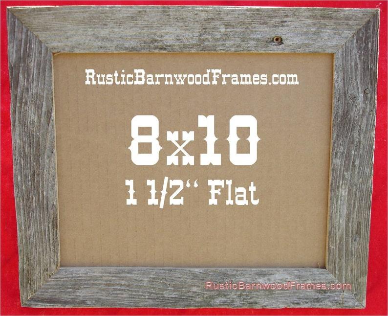 10  8x10 rustic barnwood barn wood picture frame frames