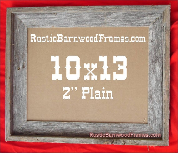 10x13 2 Plain Rustic Barn Wood Aged Weathered Reclaimed Etsy