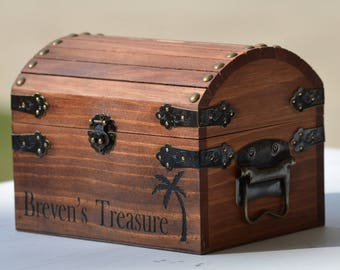 Hand Painted Treasure Boxes-Personalized wooden boxes-trinket boxes-treasure keepers