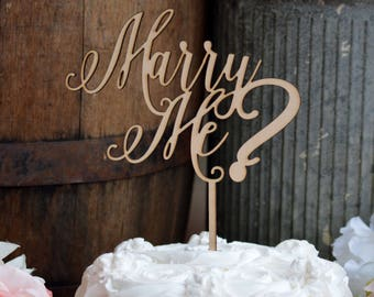 Will You Marry Me Proposal Ideas, Marry Me Cake Topper, Unique Proposal Idea, Creative Proposal Ideas, Valentines Day Gift, Proposal Gift