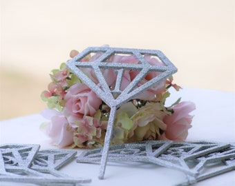 Engagement Party Decorations Bachelorette Party Decor Bridal Shower Decorations Diamond Table Numbers Geo Wedding Centerpieces Table Signs