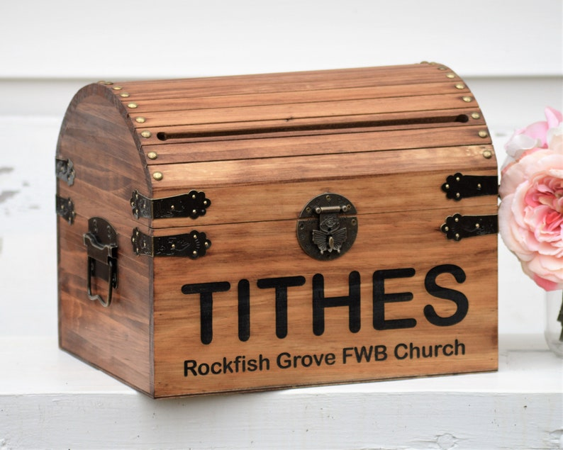 Church Offering Box Tithe Box Church Collection Box With ...