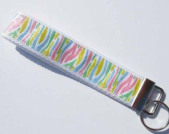Zebra Glitter Key Fob 11f902e83