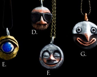 Face Pendants