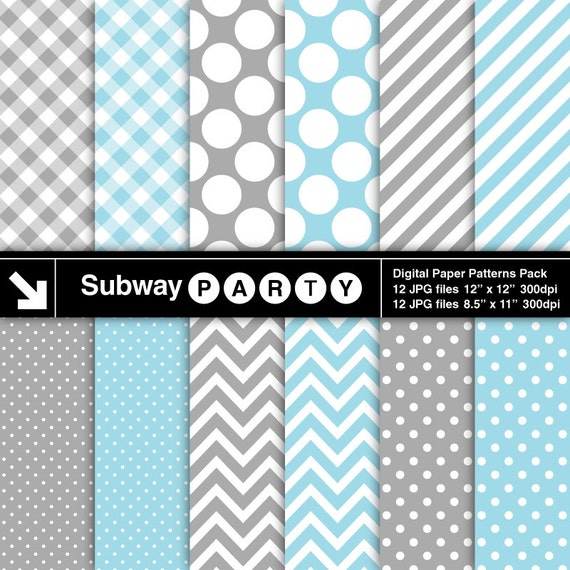 Greys and yellow scrapbooking geometric paper floral unisex hexagon chevron polka dots tulip lines party baby stag masculine boy man pattern