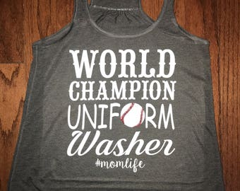 World Champion uniform washer baseball footbsll tank