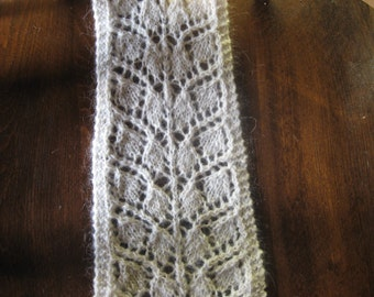 lace wool scarf
