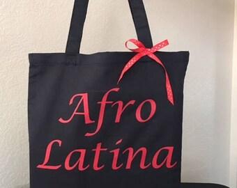 Es Mi Cultura ~ Afro-Latina Tote bag