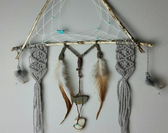 Bohieman dreamcatcher wall hanging