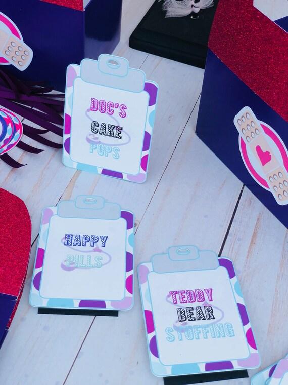 Disney Doc McStuffins Vinyl Keychain Party Favor