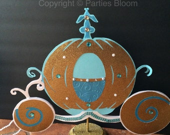 New 2015 Cinderella Pumpkin Carriage Centerpiece