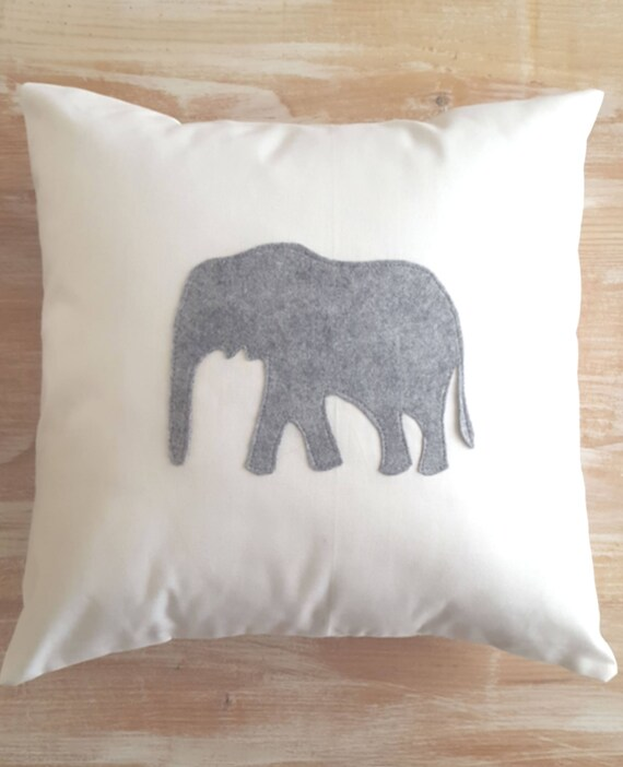 African Grey Elephant Pillow Case