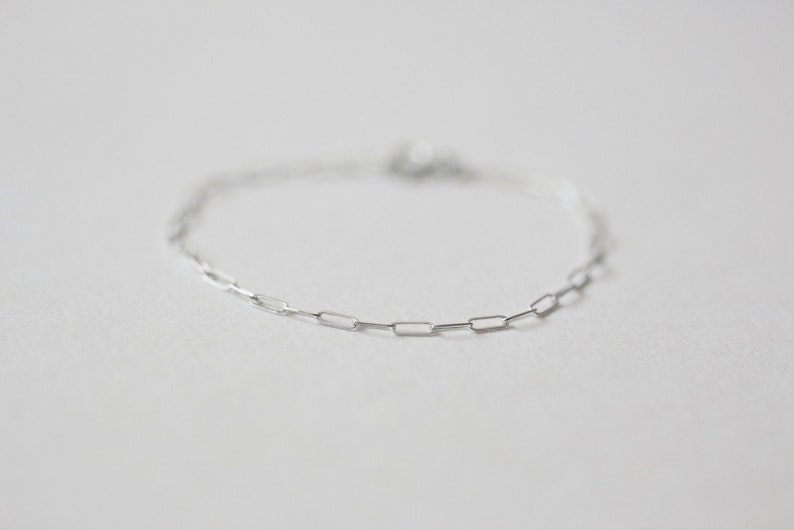 Classic Bracelet 4  Handmade 925 Sterling Silver Jewellery image 0