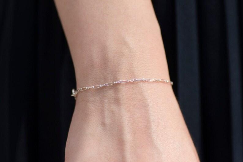 Classic Bracelet 2  Handmade 925 Sterling Silver Jewellery image 0