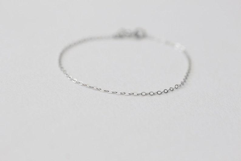 Classic Bracelet 1  Handmade 925 Sterling Silver Jewellery image 0