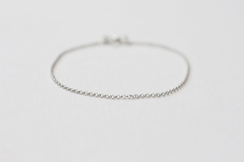 Classic Bracelet 5  Handmade 925 Sterling Silver Jewellery image 0